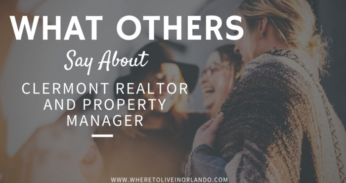 Clermont Realtor AND Property Manager in One