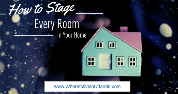 how to stage every room in your home